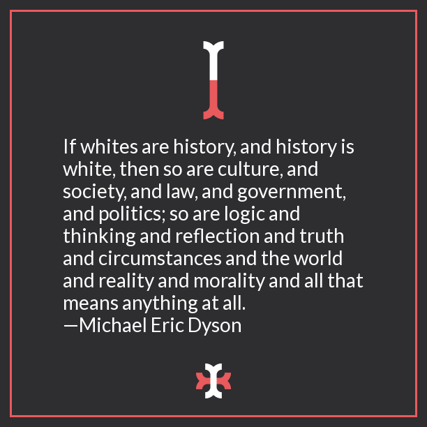 Whites are history