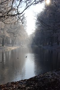 Utrecht, the Netherlands in Winter